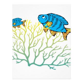 Ocean Fish Letterhead