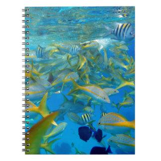 Ocean Fish Spiral Notebook