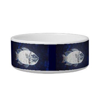 Ocean Fish Pet Bowl