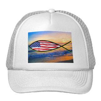 Ocean Fish Trucker Hat