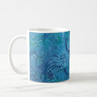 Ocean Floor Batik Coffee Mug