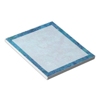 Ocean Floor Batik Notepad