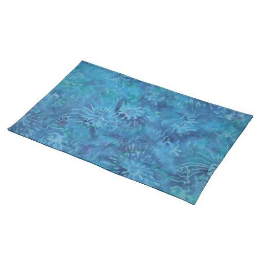 Ocean Floor Batik Placemat