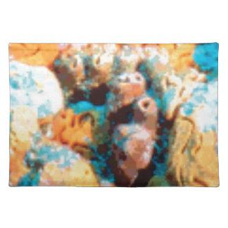 ocean floor holes placemat
