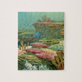 ocean floor layers jigsaw puzzle
