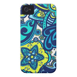 Ocean Floral iPhone Case Case-Mate iPhone 4 Case