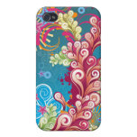 Ocean Flourish - Abstract Vector for 4 iPhone 4/4S Covers
