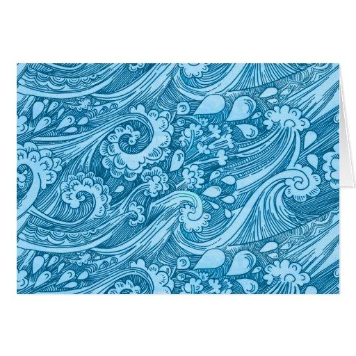 Ocean Flow Greeting Card