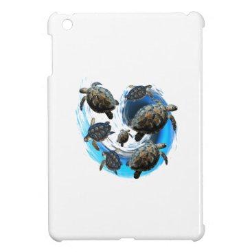 Hawaiian Themed Ocean Flow iPad Mini Cover