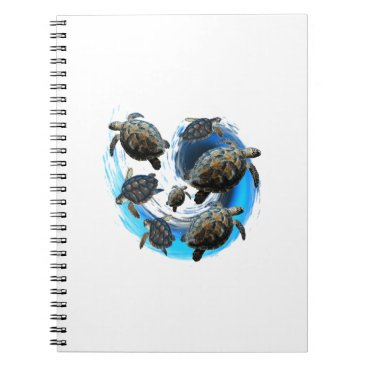 Hawaiian Themed Ocean Flow Notebook