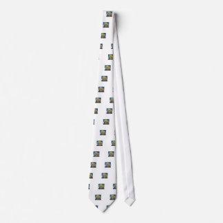 ocean flower arrangement neck tie