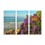 Ocean Flowers Gallery Wrapped Canvas