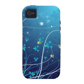Ocean Flowers iPhone 4 case