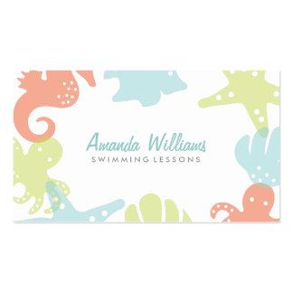 Ocean Friends Swim Lessons Business Cards