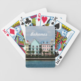 Ocean Front Bahamas Bicycle Playing Cards