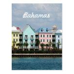 Ocean Front Bahamas Post Card
