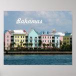 Ocean Front Bahamas Poster