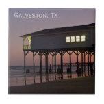 Ocean Front House Galveston Tile