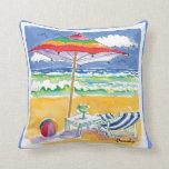 beach, ocean, sea, coast, coastal, umbrella,