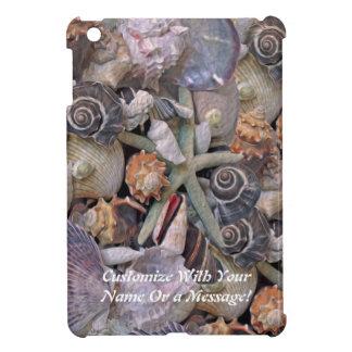 Ocean Gems Seashell Treasures in Magenta iPad Mini Case
