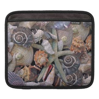 Ocean Gems Seashell Treasures in Magenta Sleeve For iPads