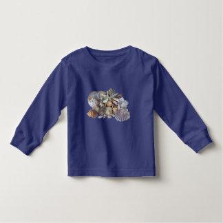 Ocean Gems Seashell Treasures in Magenta Toddler T-shirt