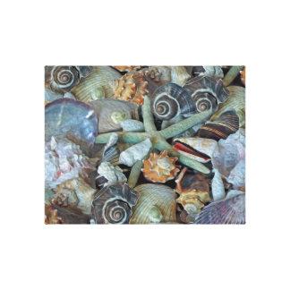 Ocean Gems Seashells Canvas Print