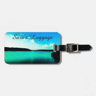 Ocean Getaway Luggage Tag