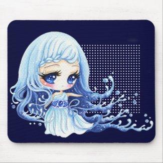 Ocean girl mousepad