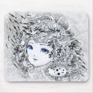 ocean girl mouse pads