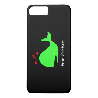 Ocean Glow_Big Spouty Whale_personalized iPhone 7 Plus Case