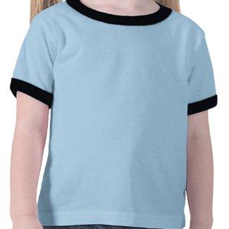 Ocean Glow_Black-on-Blue Grouper shirt