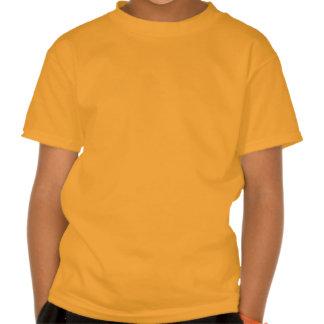 Ocean Glow_Black on Orange Crab Tee Shirt