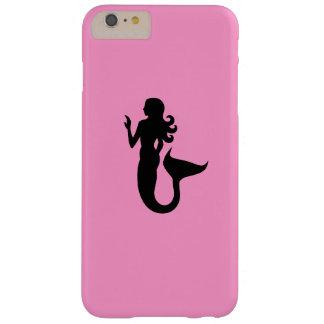 Ocean Glow_Black-on-Pink_Alluring Mermaid Barely There iPhone 6 Plus Case
