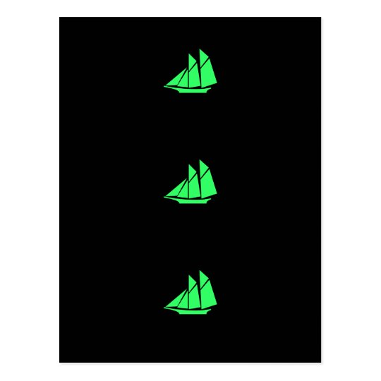 Ocean Glow_Green Clipper Postcard