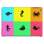 Ocean Glow_nautical themed_maritime icons iPad Air Cover