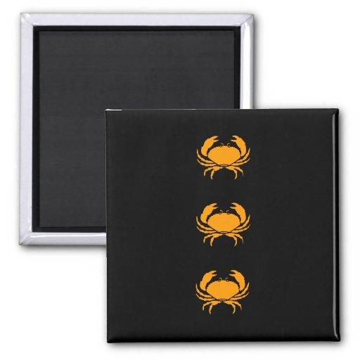 Ocean Glow_Orange Crab Magnet