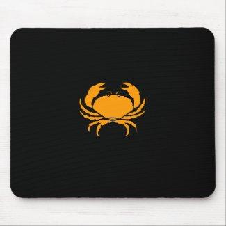 Ocean Glow_Orange Crab mousepad