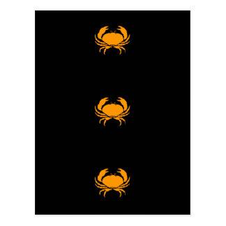 Ocean Glow_Orange Crab Postcards