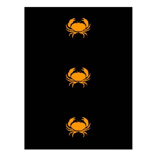 Ocean Glow_Orange Crab Postcard