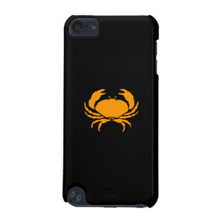 Ocean Glow_Orange on Black Crab iPod Touch (5th Generation) Cover
