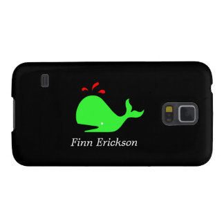 Ocean Glow_Spouty Whale_personalized Galaxy S5 Cases