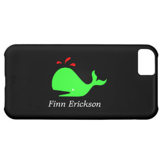 Ocean Glow_Spouty Whale_personalized iPhone 5C Covers