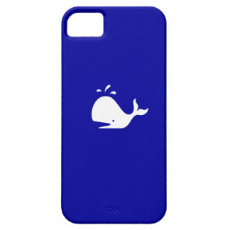 Ocean Glow_White-on-Blue Whale iPhone 5 Case-Mate iPhone 5 Case