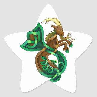 Ocean Goat Star Sticker