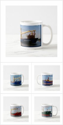 Ocean Going Freighters/Salties mugs