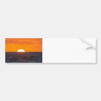 Ocean-Going Sunset Bumper Sticker
