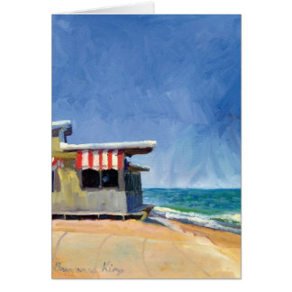 Ocean Grill note card
