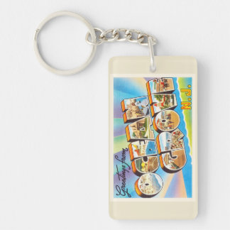 Ocean Grove New Jersey NJ Vintage Travel Postcard- Keychain