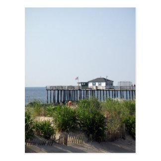 Ocean Grove NJ Beach Postcard